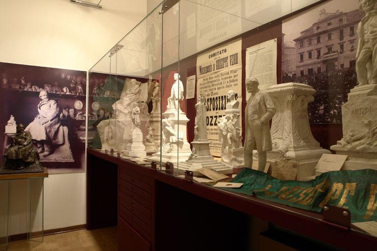 Il concorso per la realizzazione del monumento a Giuseppe Verdi