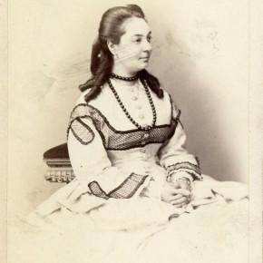 """Marietta Gazzaniga Malaspina, prima interprete di Luisa a Trieste Civico Museo Teatrale """"Carlo Schmidl"""""""