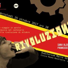 Rivoluzione: appuntamento 25 ottobre ore 18:00