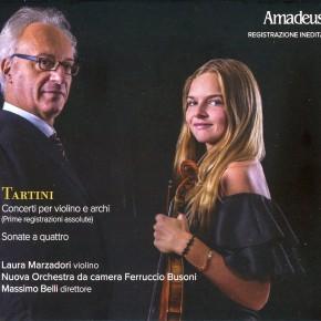 GIUSEPPE TARTINI - Concerti per violino e archi e Sonate a quattro