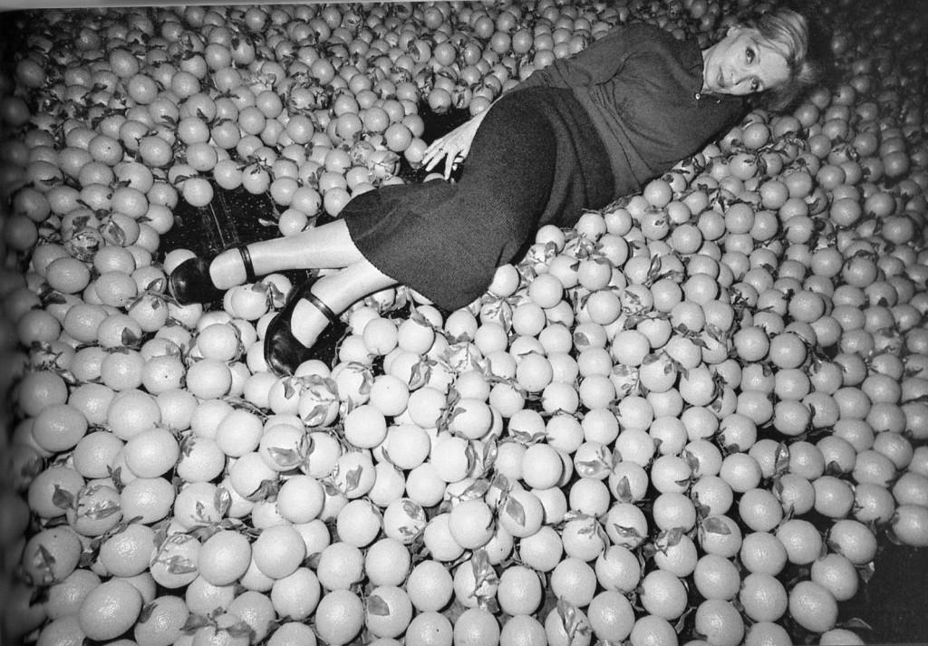 """Lidia Kozlovich in """"Nozze di Sangue"""" di Federico Garcia Lorca al Teatro Sloveno con la regia di Damir Zlatar Frey nella stagione 2000-2001 FOTO di ALICE ZEN"""