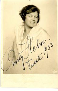 """Anny Helm Sbisà, interprete di Turandot al Teatro Verdi di Trieste nel 1936 Civico Museo Teatrale """"Carlo Schmidl"""" - Archivio Fotografico / CMT F 1902"""